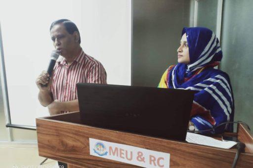 Dept. Head of Bio-chemistry spoke on blood culture