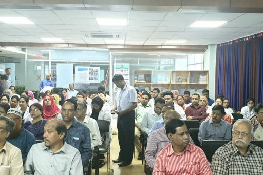 The topic of this seminar enlightened by the attendance of all professors & teachers was a success for the audiences.