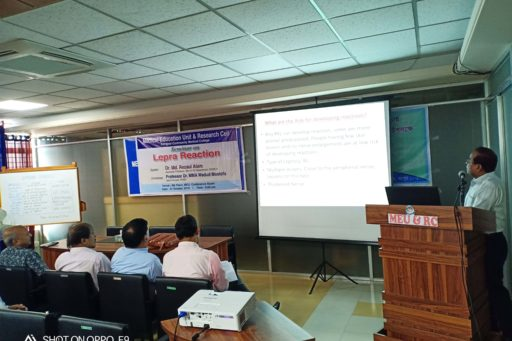 Seminar on the lepra reactions in rangpur region organized at MEU & RC in RCMC (3)