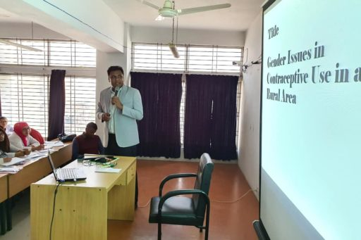 A Seminar on Residential Field Site Training (RFST) presented by Assit. Prof. Dr. Shah Ahasanul Imran, Dept. of Comm. Med. (II)