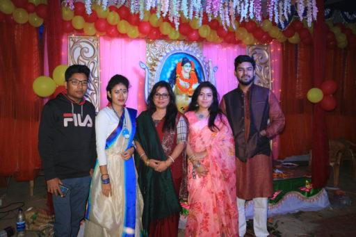 The ceremony to celebrate Saraswati Puja, 2020 at RCMC&H Campus (10)