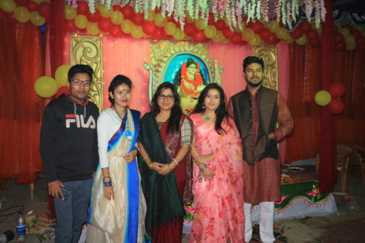 The ceremony to celebrate Saraswati Puja, 2020 at RCMC&H Campus (9)