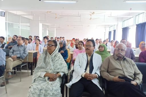 The Seminar on corona virus outbreak at Lecture Hall in RCMC Academic Building (9)