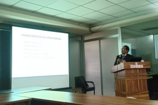 Seminar on Medical Professionalism conducted by Prof. Dr. Abdur Rahim, Biochemistry Department of RCMC (12)
