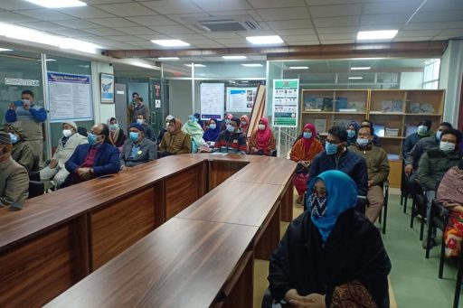 Seminar on Medical Professionalism conducted by Prof. Dr. Abdur Rahim, Biochemistry Department of RCMC (5)