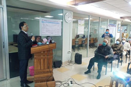 Seminar on Medical Professionalism conducted by Prof. Dr. Abdur Rahim, Biochemistry Department of RCMC (7)