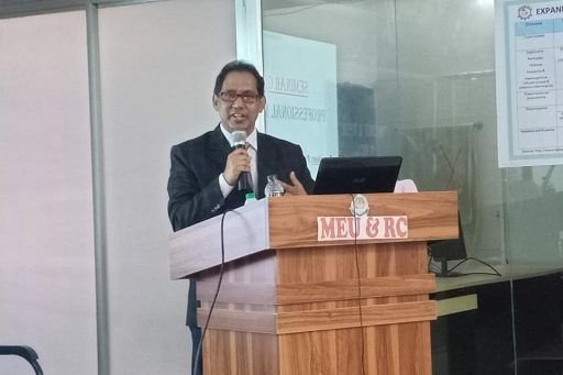 Seminar on Medical Professionalism conducted by Prof. Dr. Abdur Rahim, Biochemistry Department of RCMC (8)