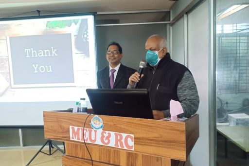 Seminar on Medical Professionalism flourshed by the presence of Prof. Dr. M. M. A. Wadud Mostafa, Vice Principal of RCMC (21)