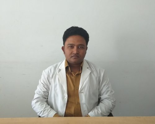 Dr. Asif Md Abid Hasnain, MBBS, Lecturer