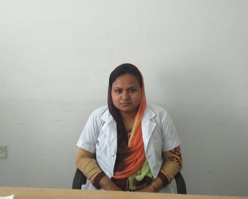 Dr. Nusrat Afroz, MBBS & Lecturer