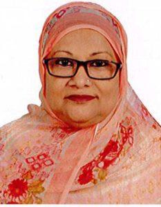 Mrs Shahana Sarker.