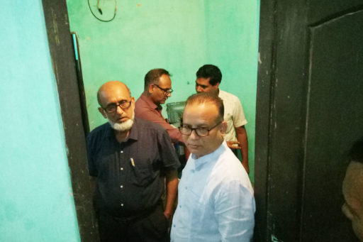 03. Honourable Directors inspect the hostel's IPS with their team