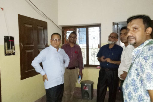 14. Honourable Directors are going to inspect the Atika hostel's Facility with their team