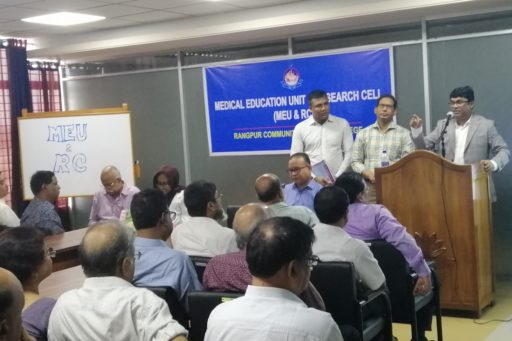 Chief Guest: Managing Director Md. Nazmul Ahasan, Rangpur Group spoke at the event