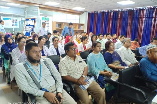 The hosts and the presenter of this seminar conveyed thier feelings on the topic of this seminar enlightened by the attendance of all professors & teachers.