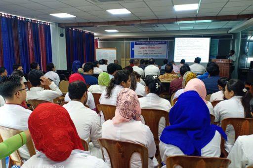 Seminar on the lepra reactions in rangpur region organized at MEU & RC in RCMC (11)