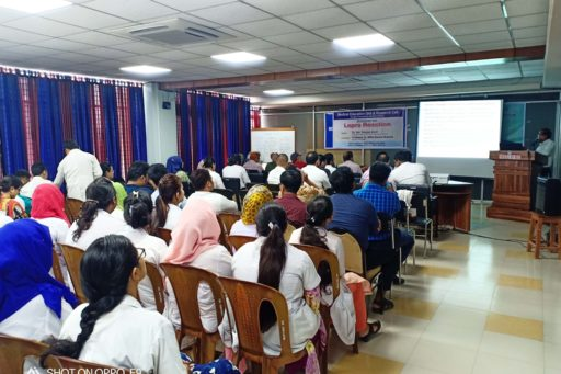 Asso. Prof. Dr. Md. Rezaul Alam spoke at Seminar on the lepra reactions in rangpur region organized at MEU & RC in RCMC (13)