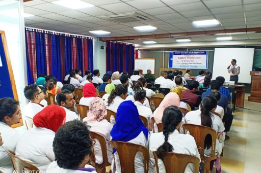 Prof. Md. Abdur Rahim hosted the seminar on the lepra reactions in rangpur region organized at MEU & RC in RCMC (2)