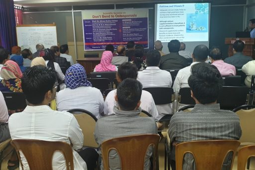 The main speaker detailed the topic of the Seminar