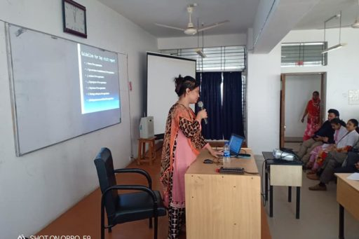 A Seminar on Residential Field Site Training (RFST) presented by Asso. Prof. Dr. Tanzina Afrose, Dept. of Comm. Med. of RCMC