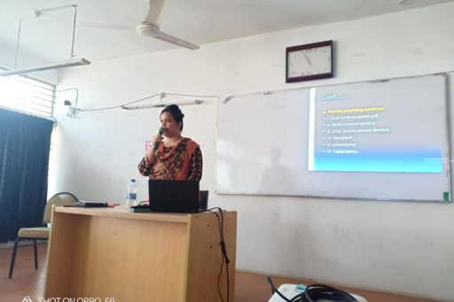 A Seminar on Residential Field Site Training (RFST) presented by Asso. Prof. Dr. Tanzina Afrose, Dept. of Comm. Med., RCMC
