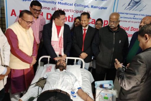 Blood Donation Campaign on the day of Mahatma Gandhi's 72nd Death Anniversary (12)