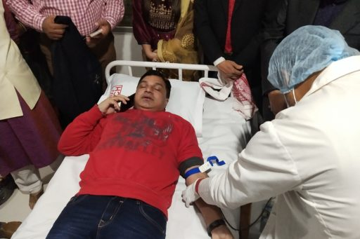 Blood Donation Campaign on the day of Mahatma Gandhi's 72nd Death Anniversary (15)