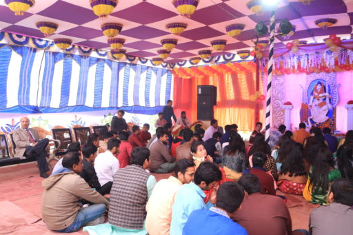 The ceremony to celebrate Saraswati Puja, 2020 at RCMC&H Campus (2)