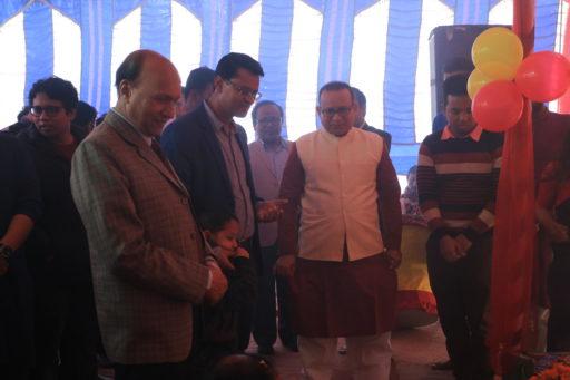 The ceremony to celebrate Saraswati Puja, 2020 at RCMC&H Campus (7)