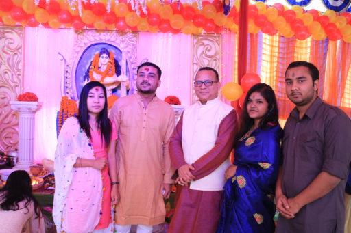 The ceremony to celebrate Saraswati Puja, 2020 at RCMC&H Campus (8)