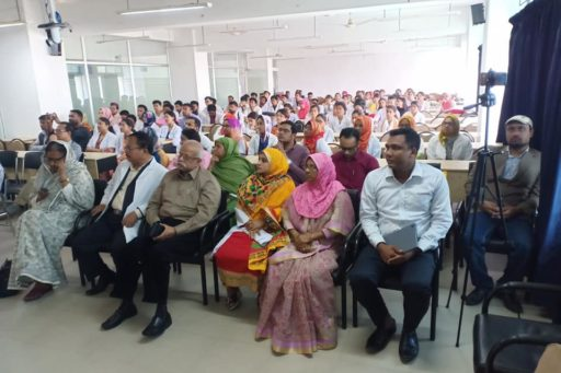 The Seminar on corona virus outbreak at Lecture Hall in RCMC Academic Building (10)