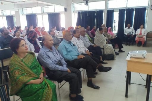 The Seminar on corona virus outbreak at Lecture Hall in RCMC Academic Building (19)