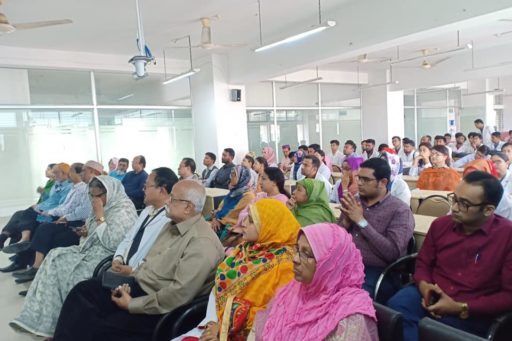 The Seminar on corona virus outbreak at Lecture Hall in RCMC Academic Building (20)
