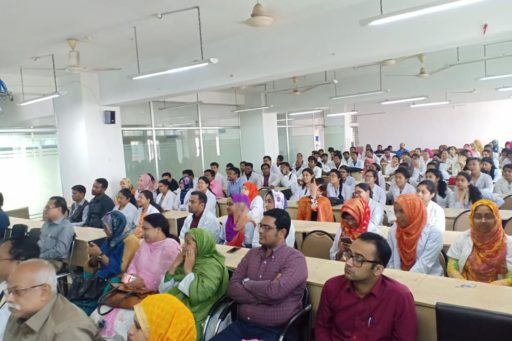 The Seminar on corona virus outbreak at Lecture Hall in RCMC Academic Building (22)